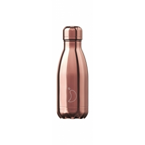 Trinkflasche 260ml, Chrome Rose Gold